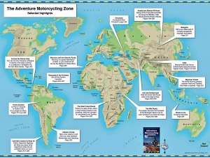 Adventure Motorcycling Zone Map