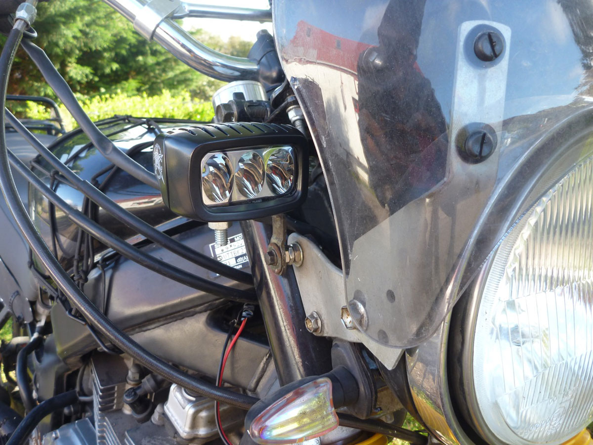 Tested rigid industries sr m led lamp being a late 80s bike which by some oversight got produced right into the 21st century my gss lights have trouble attracting moths and for the same aloadofball Image collections