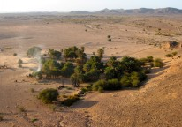 Camp at Tadjemout Spring