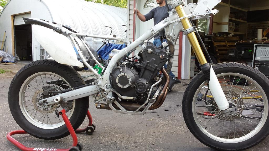Honda Crf250l Project Bike