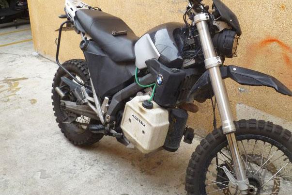 Bmw Xcountry Xtra Fuel And Xrack Adventure