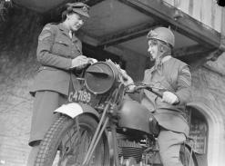 WW2 despatch rider