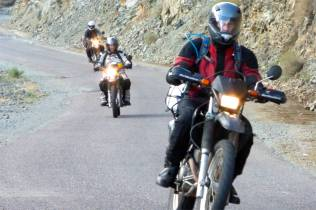 Fly in, hop on a bike, head for the High Atlas