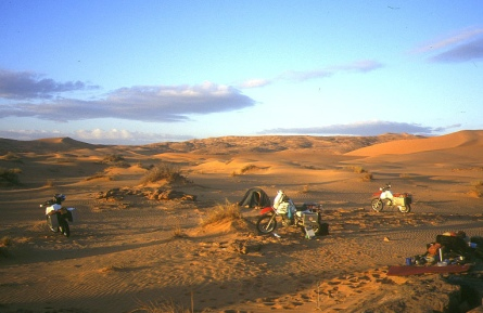 Camp before Oued Samene