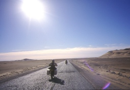 The road south along the Gassi Touil