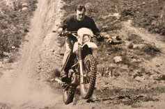 KLX in Cornwall - 1981