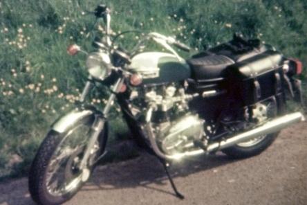 Triumph Bonneville - 1978