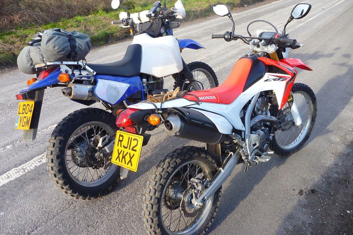 Honda Crf250l Vs Xr250 Tornado