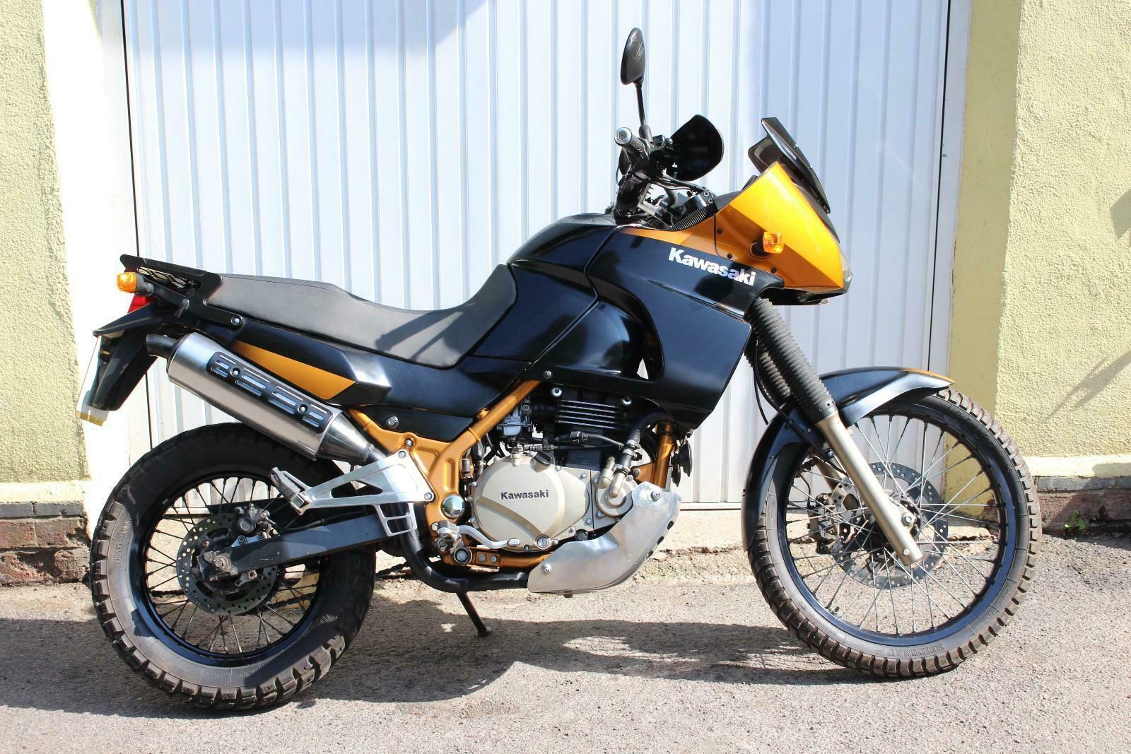 Kawasaki 650 Versys project bike  