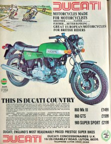 Ducati900GTS-advert-1977