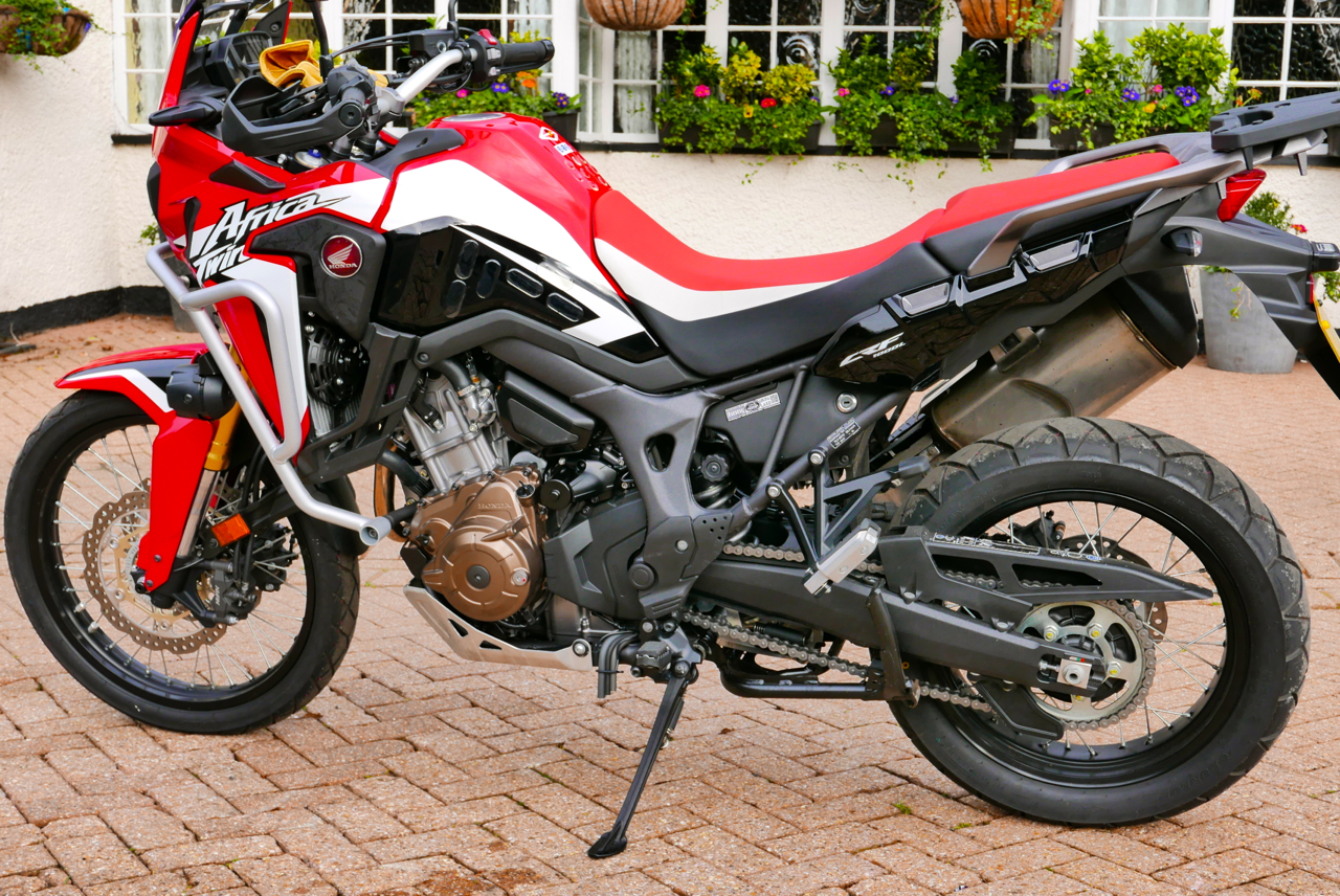 Quick Spin Africa Twin Dct Review