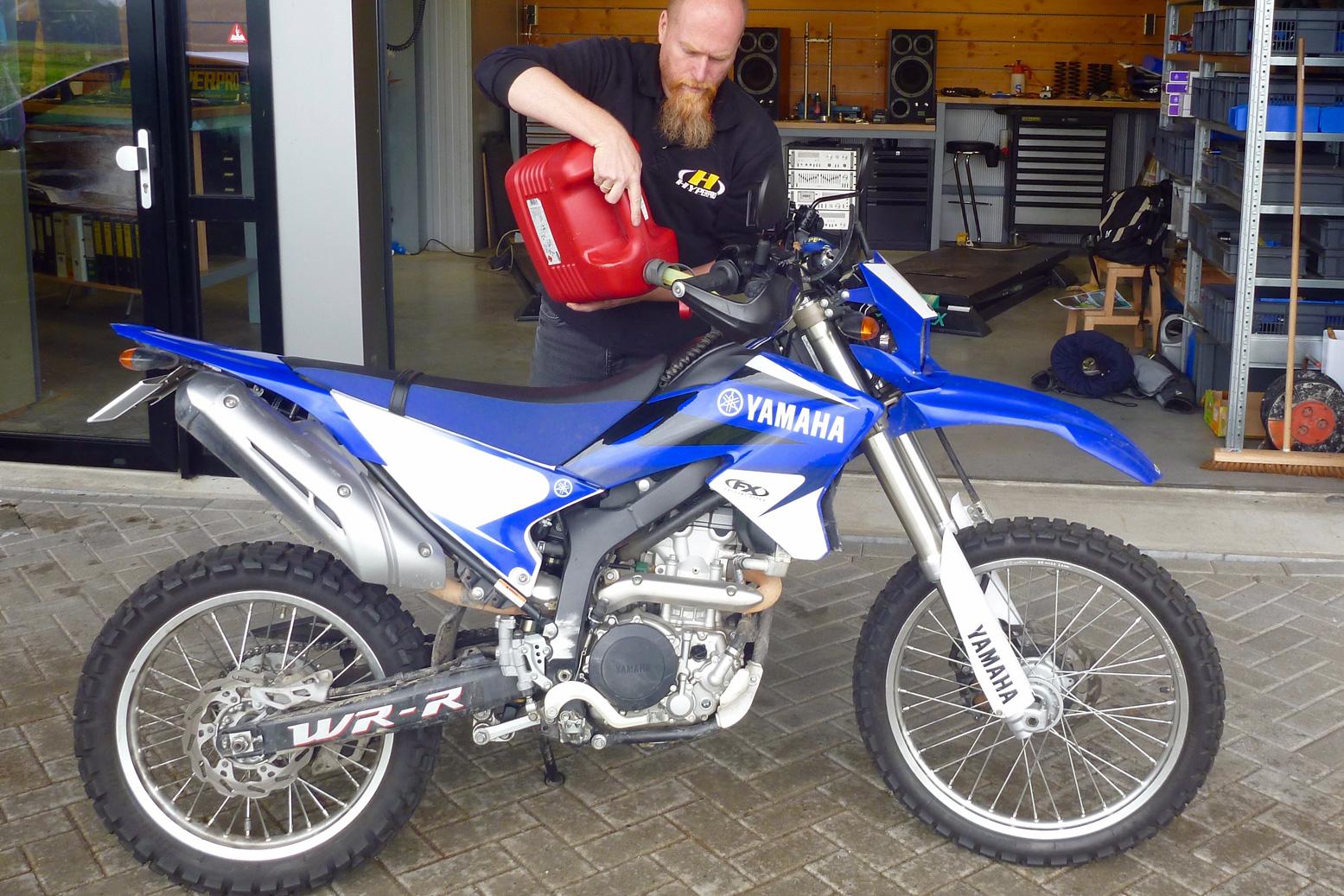 Yamaha WR250R project bike  