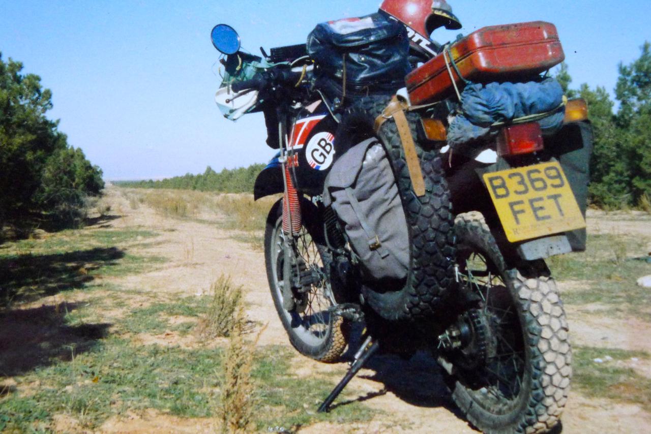 Yamaha S 1983 Xt600 T 233 N 233 R 233