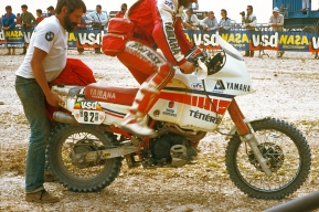 Yamaha Italy desert racer