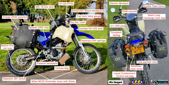 long trip on lightweight bike | Page 3 | Expedition Portal