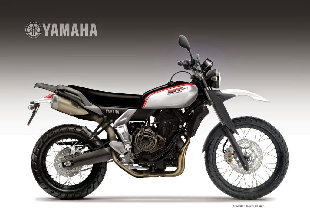 Scrambler YAMAHA MT 07 ENDURO CONCEPT