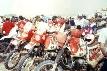 The '86 Dakar BMW team