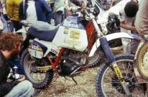 Honda 125 desert racer