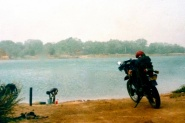 Stuck by a river in Mali
