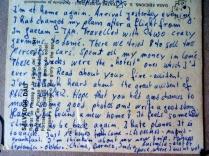 Postcard from Helmut