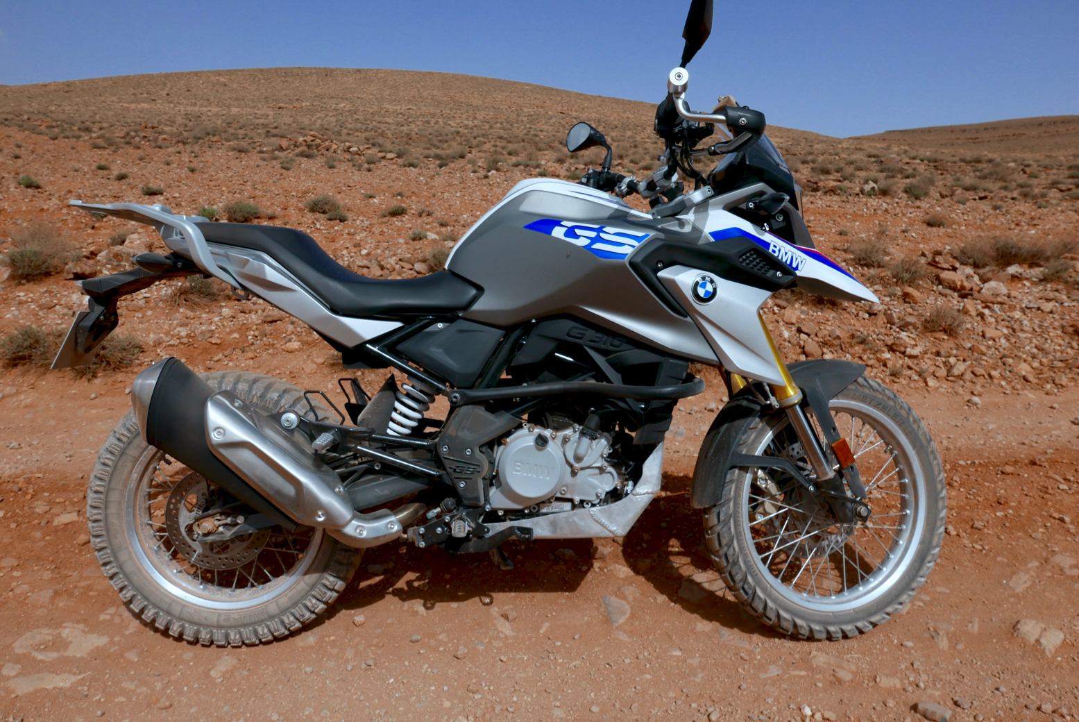 Bmw G310gs 600km In Morocco Video